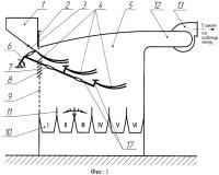 Патент 2401704 Воздушный сепаратор зерна