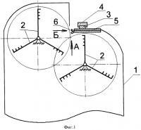 Патент 2330130 Секция трепальной машины для обработки лубяных волокон