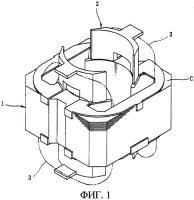 Патент 2280935 Узел статора электродвигателя в сборе и способ его изготовления