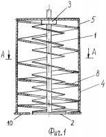 Патент 2513576 Шнековая установка для добычи торфа
