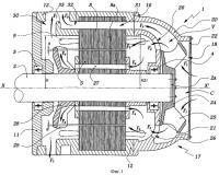 Патент 2298868 Устройство для вентиляции электродвигателя рельсовой тяги и электродвигатель, оснащенный таким устройством