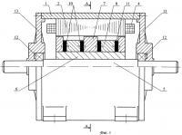Патент 2436221 Бесконтактная магнитоэлектрическая машина с аксиальным возбуждением
