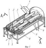 Патент 2400052 Роторный сепаратор перетертого вороха