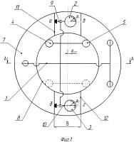 Патент 2665497 Способ измерения параметров паза на торце втулки