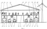 Патент 2645566 Сеть путепроводов для пассажирского транспортного/нетранспортного перемещения граждан