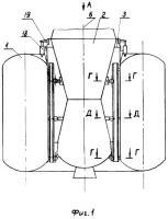 Патент 2293692 Устройство для отделения сбрасываемого отсека от основного изделия