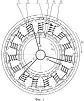 Патент 2437196 Электрическая машина двойного вращения