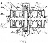 Патент 2658448 Многоступенчатый кавитационный теплогенератор (варианты)