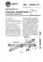 Патент 1234142 Устройство для транспортировки цилиндрических изделий