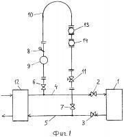 Патент 2602748 Способ калибровки измерительных систем узлов учета тепловой энергии и поверки счетчиков жидкости и устройство для его осуществления