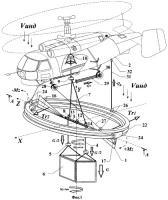 Патент 2307049 Устройство для азимутальной ориентации и стабилизации груза на внешней подвеске летательного аппарата