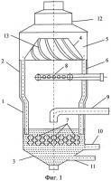 Патент 2447156 Сатуратор для свеклосахарного производства