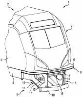 Патент 2646708 Центральная защита от выжимания для рельсового транспортного средства с дополнительными функциями