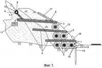 Патент 2512192 Способ возведения противооползневой системы биопозитивной конструкции