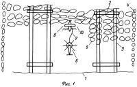 Патент 2272754 Способ авиационного нанесения жидких, порошкообразных и других веществ