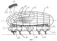 Патент 2244639 Комбинированная авиационная транспортная система для перевозки сжатых газов