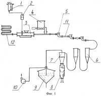 Патент 2244701 Струйная помольная установка