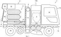 Патент 2457164 Самоходное транспортное средство для очистки дорог и им подобных объектов