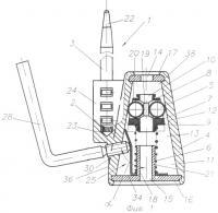 Патент 2312194 Гибкое запорно-пломбировочное устройство