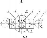 Патент 2610822 Устройство для измерения параметров паза на торце вала
