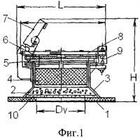Патент 2489628 Взрывозащитное устройство кочетова