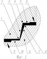 Патент 2573081 Канавочно-клиновое уплотнительное соединение