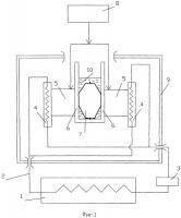 Патент 2527685 Быстрозамораживатель, преимущественно для заполненных биологическими медицинскими субстанциями полимерных пакетов