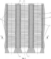 Патент 2277730 Активная зона уран-графитового высокотемпературного ядерного реактора