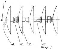 Патент 2259027 Дисковая батарея почвообрабатывающего орудия