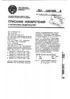 Патент 1207498 Способ обратной флотации железных руд