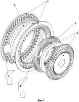 Патент 2327271 Модульная радиальная электрическая машина с поперечным магнитным потоком