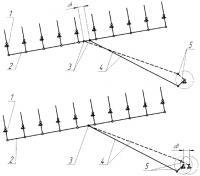 Патент 2330129 Привод гребенных валиков трясильной машины