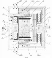 Патент 2531029 Бесколлекторный двухроторный двигатель постоянного тока
