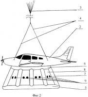 Патент 2443604 Быстродействующая система амортизации для аварийного приземления летательного аппарата