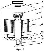 Патент 2489490 Вакуум-аппарат для уваривания утфеля