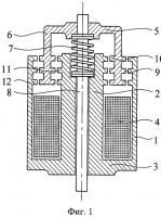 Патент 2526852 Электромагнитный двигатель (варианты)
