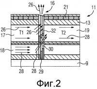 Патент 2516234 Электрическая машина с осевым, радиально смещенным охлаждающим потоком и соответствующий способ
