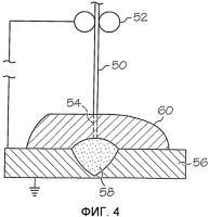 Патент 2555296 Способ дуговой сварки под флюсом и сварочная проволока для дуговой сварки под флюсом с твердым смазочным материалом на поверхности проволоки