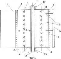 Патент 2413870 Роторный ветродвигатель