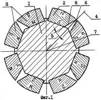 Патент 2273084 Ротор электрической машины с постоянными магнитами
