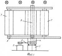 Патент 2370664 Роторный ветродвигатель