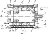 Патент 2305772 Осевая проточная турбина