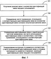 Патент 2615683 Способ и устройство для выполнения идентификации связи