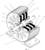Патент 2448404 Торцевая электрическая машина