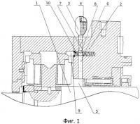 Патент 2444648 Устройство для защиты подшипников скольжения при аварийном выбеге ротора компрессора