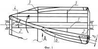 Патент 2381310 Секция трепальной машины для обработки лубяных волокон