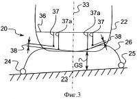 Патент 2395429 Полозковое шасси винтокрылого летательного аппарата и винтокрылый летательный аппарат, имеющий такое шасси