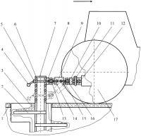Патент 2644485 Устройство тормозное для тяговых испытаний машин