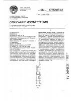 Патент 1735605 Скважинная штанговая насосная установка