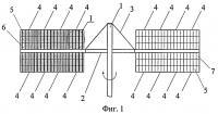 Патент 2392491 Ортогональный ветроротор
